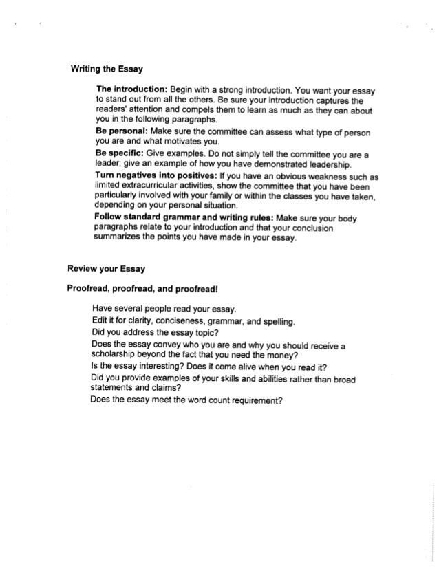 how to write agreement essay